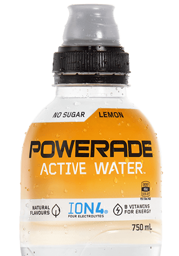 POWERADE ACTIVE WATER Lemon